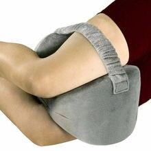 Almohada de espuma de memoria para rodilla, cojines para piernas, para dormir, para viajes por debajo de la rodilla, equipo para dormir, apoyo para aliviar el dolor en la espalda 5