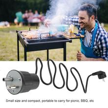 Taşınabilir barbekü kızartma Rotisserie izgara Rotator açık barbekü aracı aksesuarları ev partisi açık barbekü aksesuarları