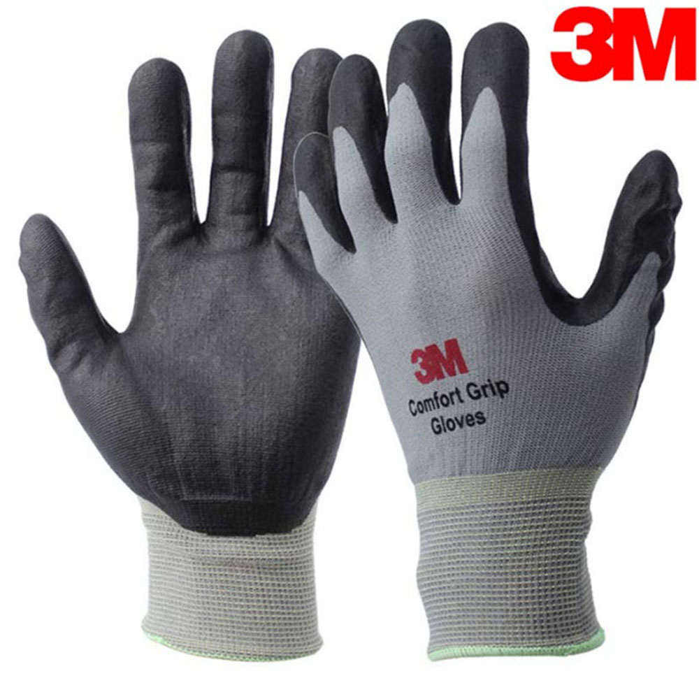 1Pair Protection Rubber Safety Work Working Anti-Slash Cut Resistance Gloves ONE