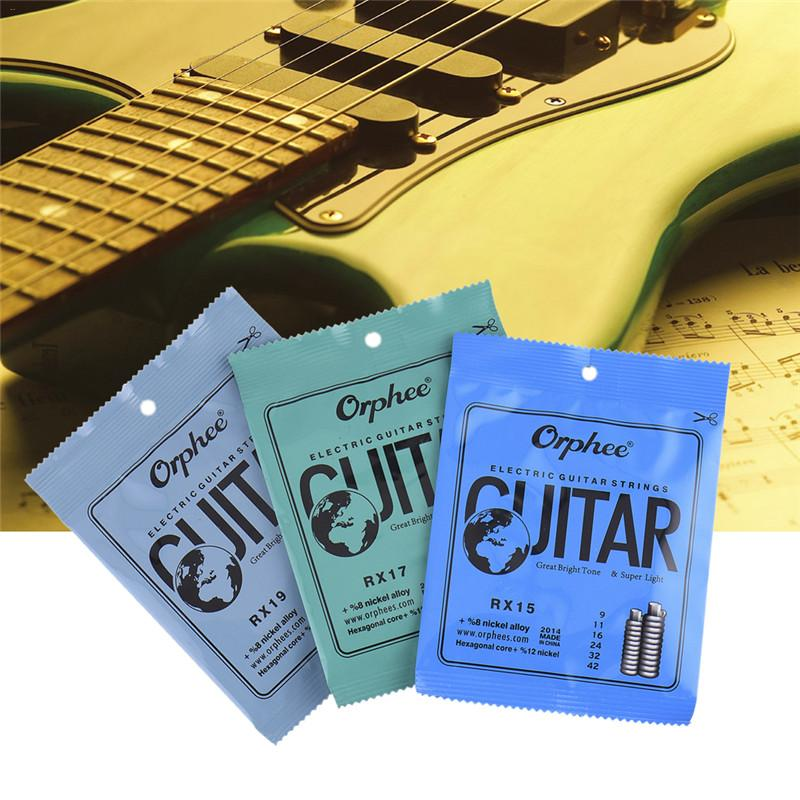 1 Set Practiced Nickel Plated Steel Guitar Strings For Electric Guitar With Original Retail Package Hot