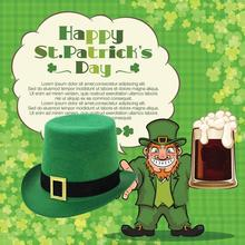 Irish St Patrick's Skirt Top Hat Tie Day For Party Gift Party Accessories Party Decoration Supplies Hot Sale A20