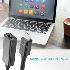 Image 5 - Аудио видео кабели для HP/DELL ноутбука ПК папа к женскому Кабель DP HDMI Displayport к 1080P HDMI адаптер конвертер