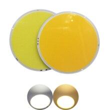 цены 12V DC 160mm Round LED COB chip light source big sun 200W High Powr Warm White LED FLIP Chip For auto light cob led strip bulb
