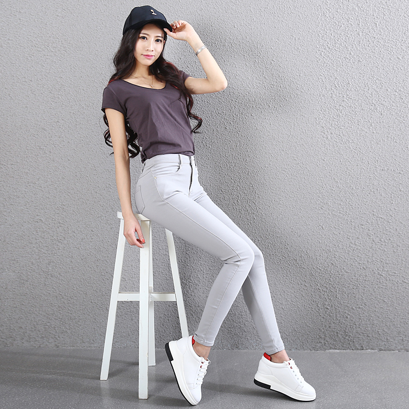 2019 Special Offer Cotton Solid Leggins Sport Women Fitness Leggins Womens Leggings New Pencil Pants, Skinny Stretch Trousers