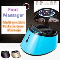Electric Antistress Foot Massager Kneading Machine Shiatsu Rolling Airbags Foot Care Device Heating Massagem Pain Relief