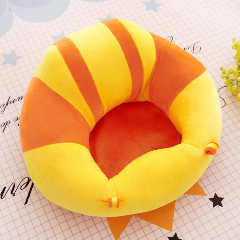 New Infant Toddler Kids Baby Support Seat Sit Up Soft Chair Cushion Sofa Plush Pillow Toy Bean Bag Animal Sofa Seat