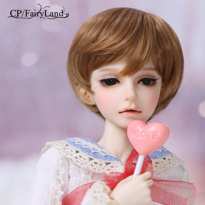 Free Shipping Fairyland Minifee Mika BJD Doll 1 4 model girls boys eyes High Quality toys