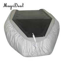 Heavy Duty Waterproof Dustproof Inflatable Boat/Dinghy/Tender Cover Storage UV Shield Accessories – Universal for 7.5ft  to 17ft