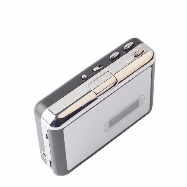 コンバータステレオ MP3 USB フラッシュ U ディスクオーディオ Captuer 音楽カセットプレーヤー
