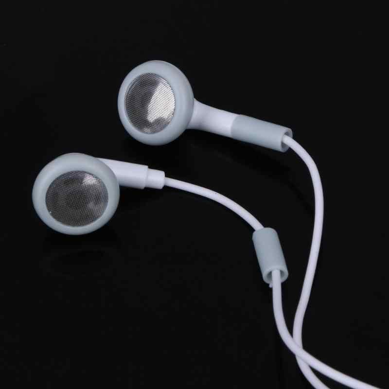 Słuchawka sportowa 3.5mm douszne basowy zestaw słuchawkowy słuchawki douszne słuchawki stereo mini fone de ouvido muzyka zestaw słuchawkowy do telefonu 5S 6S
