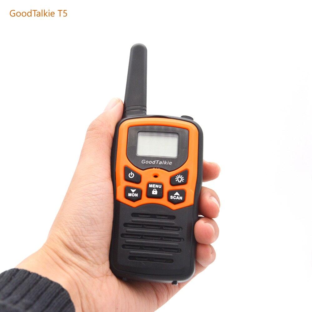 Image 5 - 2pcs GOODTALKIE T5  Walkie Talkie UHF Frequency Portable Two Way Ham Radio Custom Walkie Talkie Case-in Walkie Talkie from Cellphones & Telecommunications