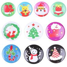 Cute Kids Boys Girls Pin Cartoon Pattern Costume Brooches Casual Decoration Christmas Tree Jewelry Accessories Gift(China)