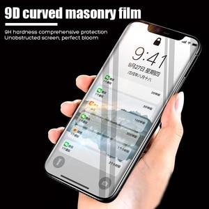 Image 5 - YOYIC 9D คาร์บอนไฟเบอร์กรอบสำหรับ iPhone 6 7 8 Plus ป้องกันหน้าจอ iPhone X XS XR Xs MAX