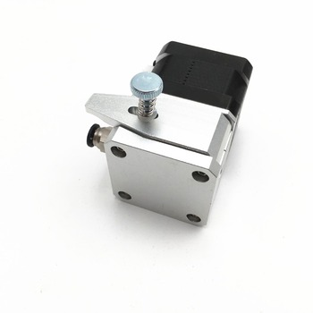 1pcs 1 75mm Metal aluminum alloy Btech bowden extruder Cloned Btech Dual  Drive Extruder for upgrade CR-10/Ender-3