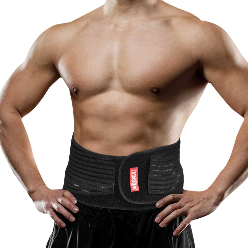 Спортивный пояс для фитнеса поясничная поясная поддержка нижняя часть спины
