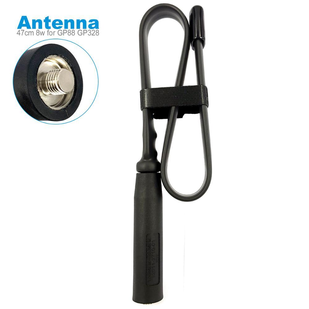 Tactical Folding Rule Antenna For Motorola GP68 GP88 GP88s GP328 GP338 PLUS CP200 CP040 GP330 GP360 GP380 Walkie Talkie VHF UHF
