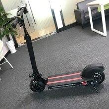 10-дюймовая шпилька для внедорожный Электрический скутер для взрослых 48 V 1200 W Мощный Новый складываемый Электрический велосипед Скутер