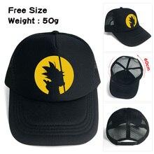 75f148c9e65f1f Anime DragonBall Z 4 Star Black Baseball Hat Snapback Adjusted Mesh Cap Son  Goku Printing Sunhat. 3 Colors Available
