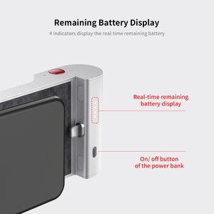 Image 5 - Brand New Portable 5000mAh Type C Battery Pack Mini Power Bank with Bluetooth Connect to Shoot Function Phone Charging Powerbank