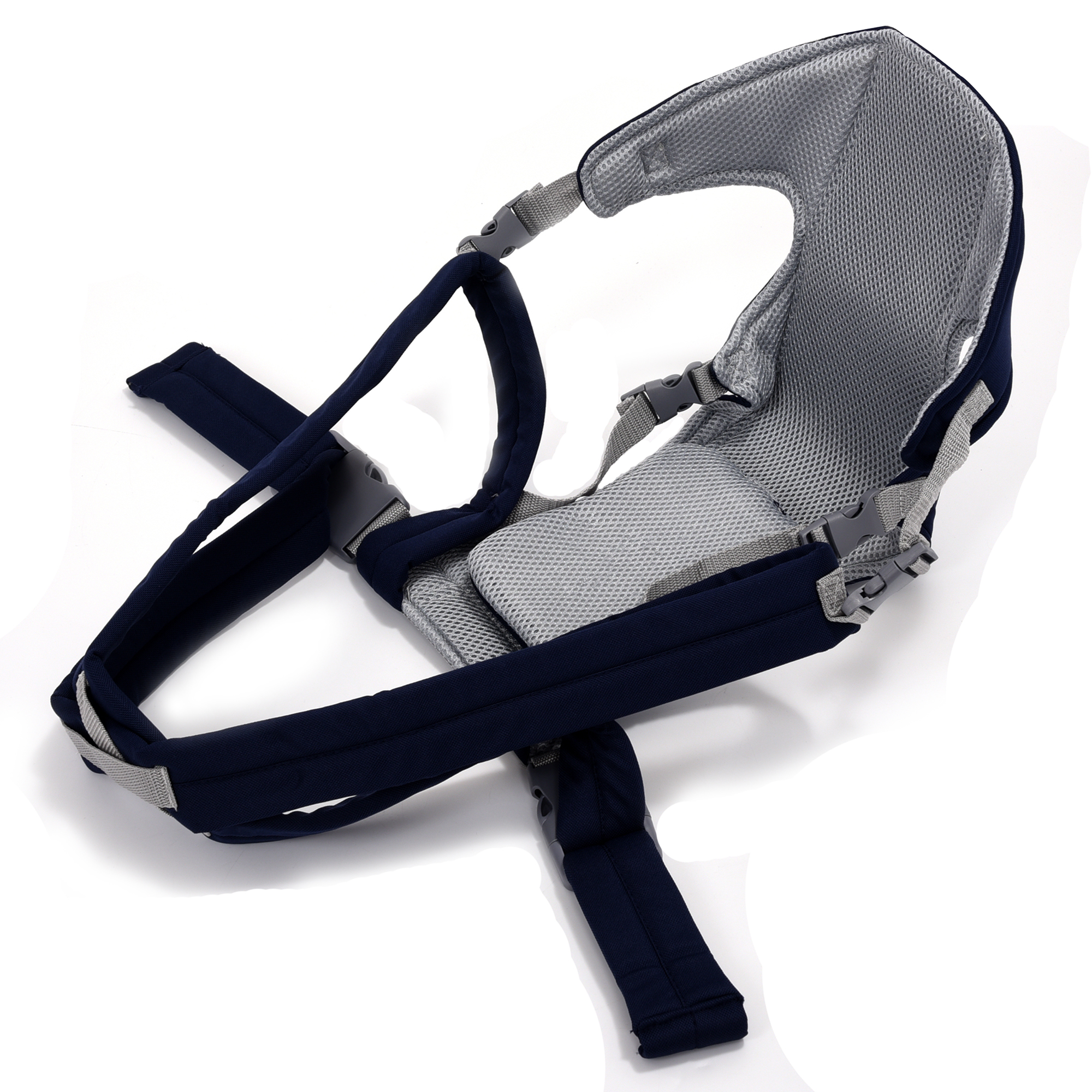 Porte-bébé réglable nouveau-né enfant écharpe Wrap cavalier sac à dos bleu