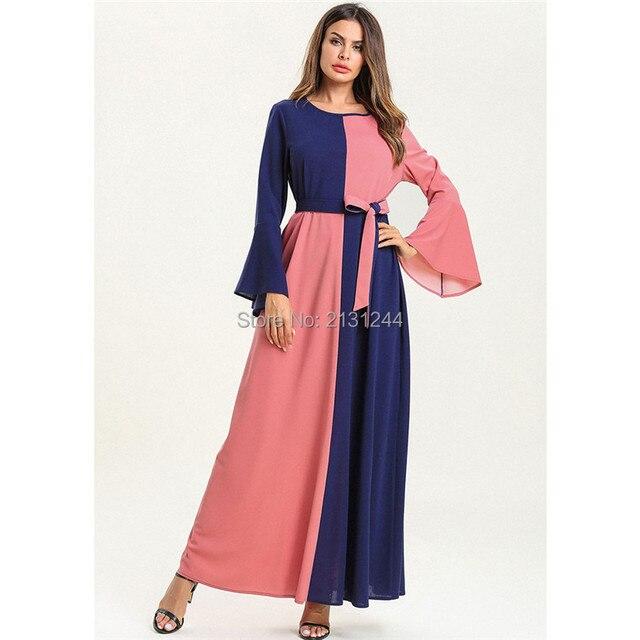 75f692ef51bec6 Abaya Dubai Islamic Clothing Bandage Muslim Dress Women Long Robe Plus Size  Caftan Marocain Kaftan Pakistan Turkish Moroccan. 2 orders