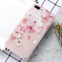 KISSCASE Floral Patterned Cases Girly For iPhone XS MAX 5S SE Beauty Soft Silicone Case Cover Coque