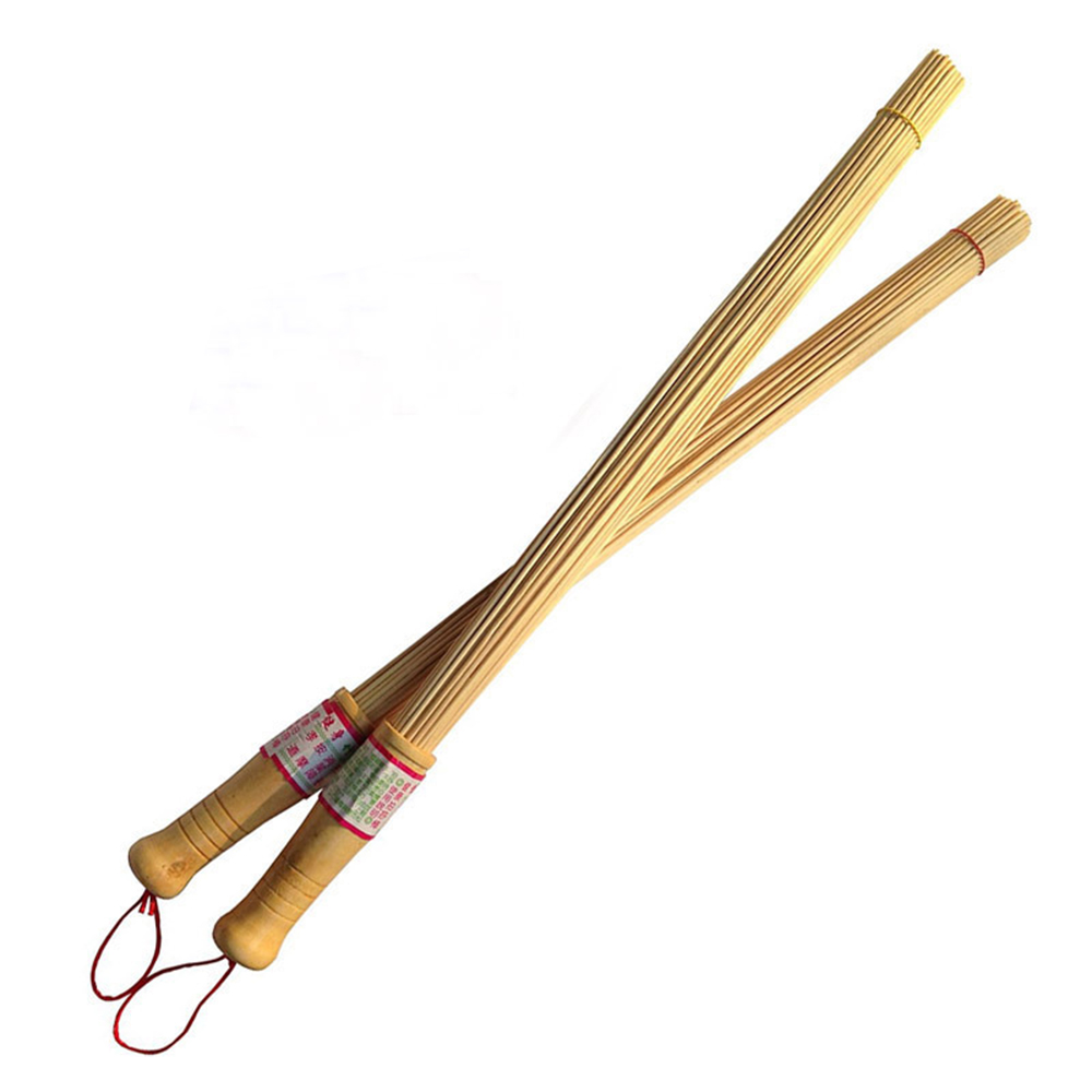 Bamboo Wood Massager Relaxation Hammer Stick Relieve Muscle Fatigue Environmental Health Wooden Handle Health Care Tool