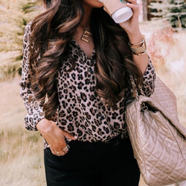 Camisa Leopardo Streetwear
