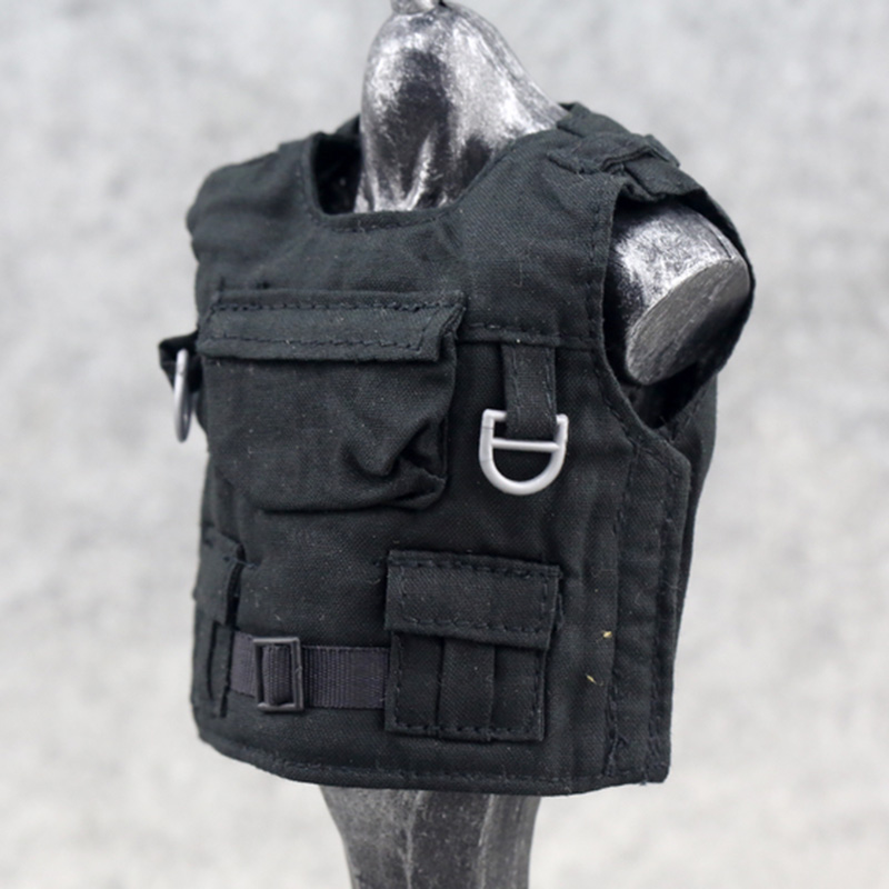 1/6 Scale Model Doll Tactical Bulletproof Vest Body Armor For 12 Figure New L