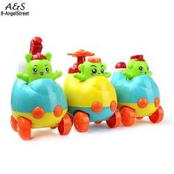 Дети Инерции машинки из мультфильмов Игрушки Образования Многоцветный развития детей старше 3 лет унисекс игрушка в подарок