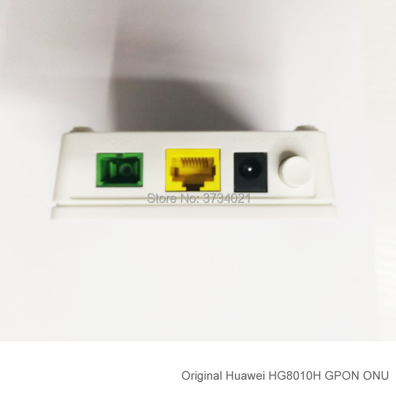 Image 3 - 20Pcs Huawei GPON ONT HG8010H 1GE port SC APC Huawei Echolife HG8010H GPON Terminal ONT Optical FTTH Router-in Fiber Optic Equipments from Cellphones & Telecommunications