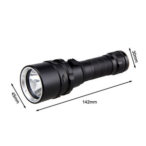 Image 5 - Professional UV Light Underwater Rechargeable 18650 Battery LED XPE Diving Flashlight 100M Torch Scuba 10W 365 395nm Lanterna