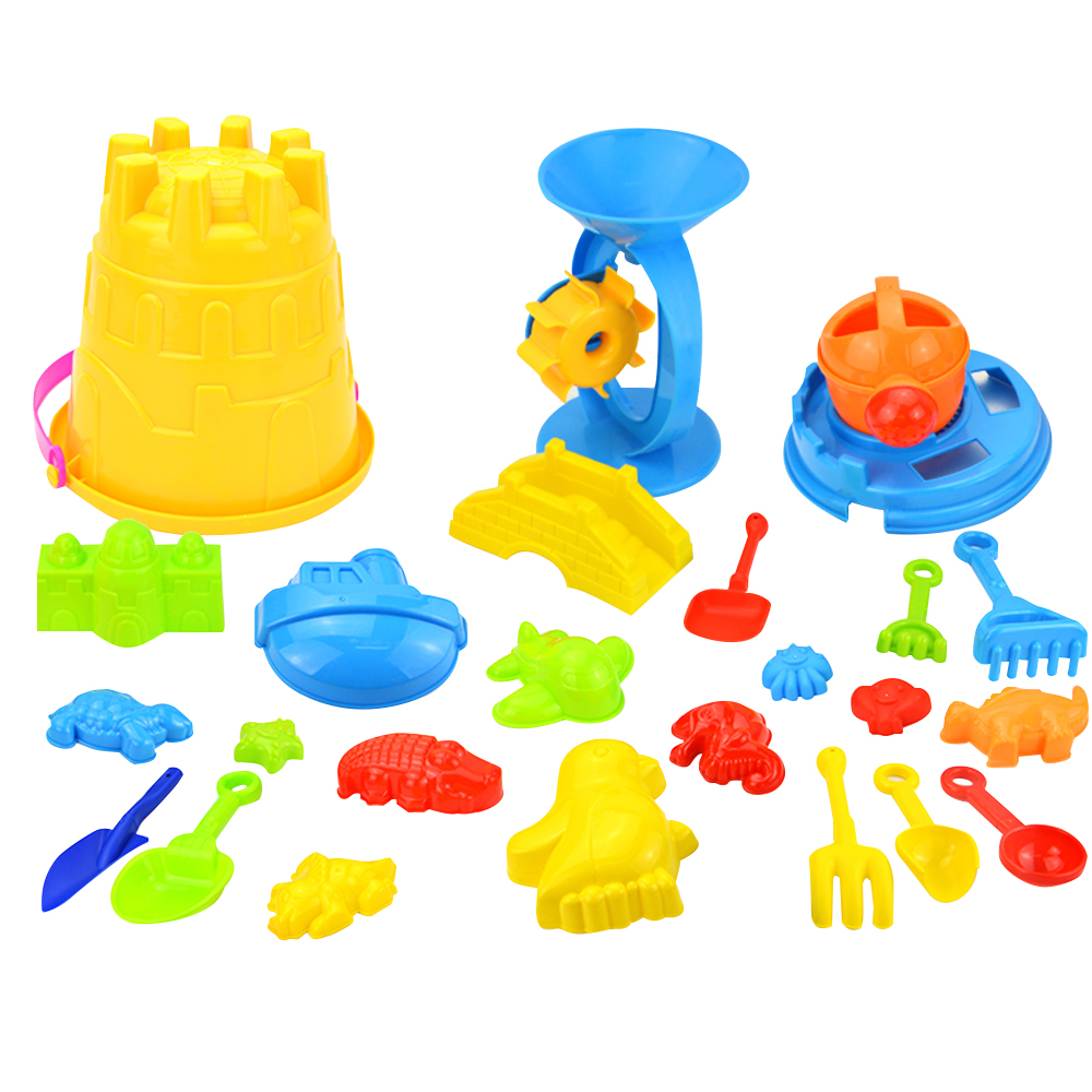 Tpe Sand Sandbeach Kids Beach Castle Bucket Spade Shovel Rake Water Tools Toys Ar Toy Dropship Y803 Home