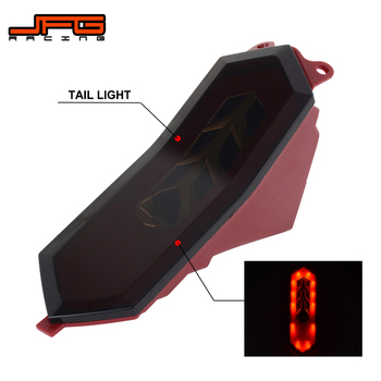 Motorcycle Integrated LED Rear Tail Light Turn Signal Brake Light For YAMAHA YZFR6 2017-2019 YZFR1 YZFR1M YZFR1S 2015-2019