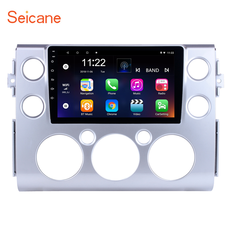 Seicane 9 inch for 2007 2018 Toyota FJ CRUISER Android 8 1 Car Radio GPS Navigation