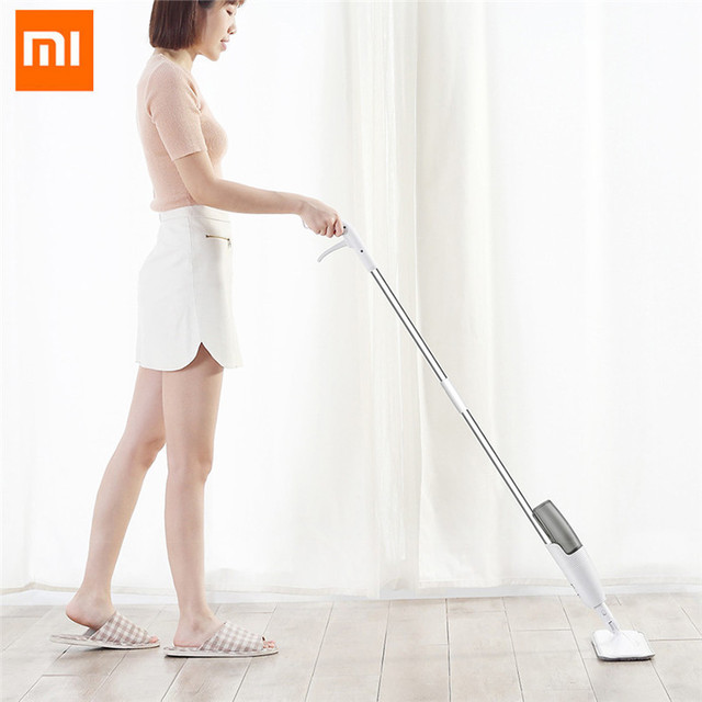 Xiaomi Deerma Spray Mop 360 Degree Rotating Handheld Mijia Water Spray Mop Home Cleaning Sweeper Mopping Dust Cleaner