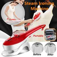 880W 220V HandHeld Garment Steamer Portable Ironing Machine Home Appliance Steamer Brush Travel Dry Cleaning Clothes Steamer