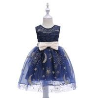Kid Girls Evenning Dress Tutu Dress Princess Dress Birthday gift