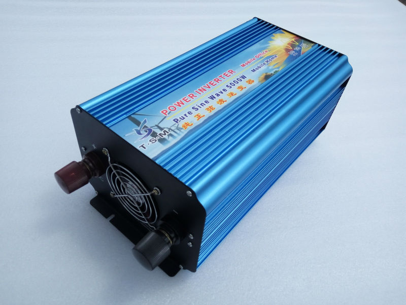 5000 W Reine Sinus Welle <font><b>Inverter</b></font> 10000 W Spitzen 12vdc zu 230VAC digital display Power <font><b>Inverter</b></font> Sinus-<font><b>Wechselrichter</b></font> image