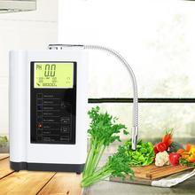 Purificador alcalino do filtro de água até 500mv da máquina do ácido do ph 9000 3.5 do controle do lcd do filtro da purificação de 10.5 ml lonizer
