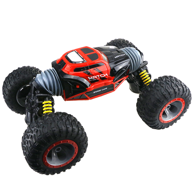 1/8 Scale Wireless Remote Control Toy RC Off-Road Car Electric Double-Sided 4WD RC Stunt Car With Remote Controller For Fun
