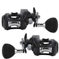 Baitcasting Fishing Reel High Speed 7.2:1 Water Drop Wheel Adjusting Knob Wheel Left Right hand Fishing Reel
