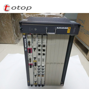 Image 4 - Huawei MA5683T 19 inches GPON OLT equipment 10GE Uplink with 2*SCUN+2*X2CS+2*PRTE GPON board MA5683T Optical Line Terminal