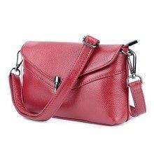 Купить с кэшбэком Fashion Genuine Leather Handbags Women Wallets Money Pockets Shoulder Bag Luxury Brand Crossbody Bag For Female Bolsa Feminina