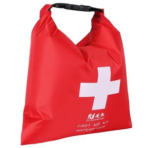 1.2L Outdoor River Trekking Rafting Adventure First Aid Supplies Storage Bag Portable Rubber Waterproof Dry Bag