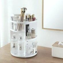 Mrosaa 360度回転化粧ホルダーオーガナイザーブラシホルダージュエリーボックスケーススキンケア化粧品収納ボックス収納ボックス & ビン