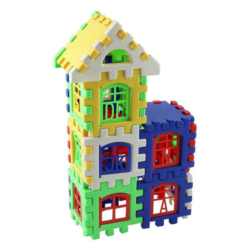 Image 4 - 24 PCS Parenting Developing House Building Blocks Construction Educational Learning Building Blocks Toys For Children Kids Gift-in Blocks from Toys & Hobbies