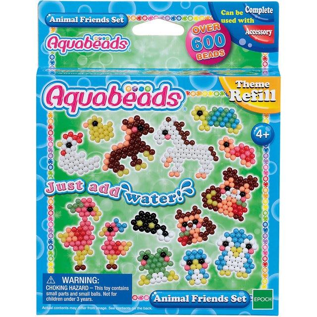 Мозаика из бусин Aquabeads Забавные животные, 600 бусин