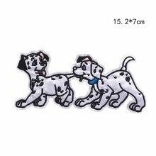 PGY милая собака хаски патч для ребенка рюкзак для одежды Декор Funnyl аппликация Железная На вышивке нашивки значки кино собака наклейки