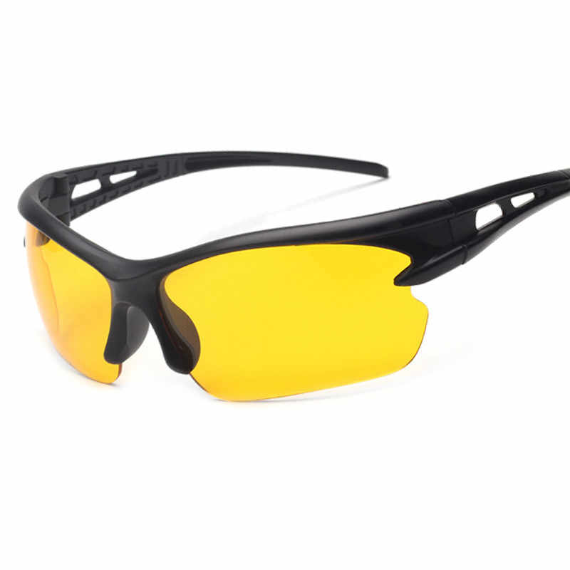6ee1a1f828 Brand Night Vision Glasses Men Night Driving Goggles Women Sunglasses  Yellow Lens Classic Men Gafas Unisex